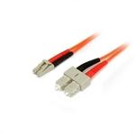 StarTech Fibra Óptica multimodo OM2 Dúplex LC-SC 2m - Cable