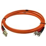 StarTech Fibra Óptica multimodo OM2 Dúplex LC-ST 1m - Cable