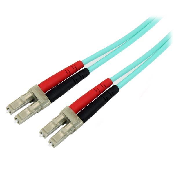 Startech Cable de Fibra Óptica Patch 10Gb 2m – Cable de red