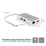 StarTech.com Multifuncion USB-C - Adaptador
