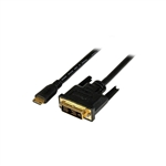 StarTech Mini HDMI to DVID 2m  Cable