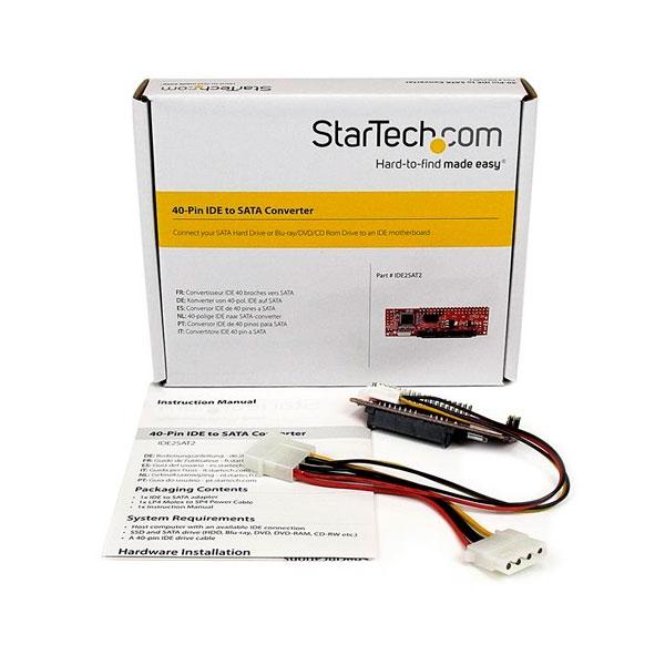 Startech conversor IDE a SATA  Adaptador