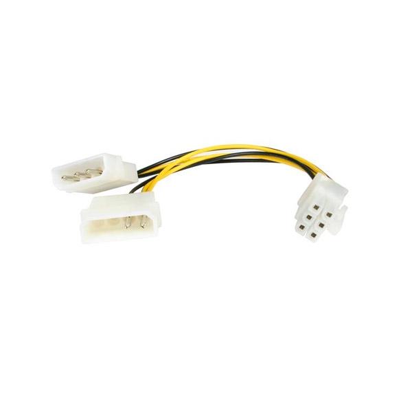 StarTech molex a 6 PIN PCI-e - Cable de alimentación