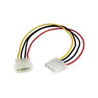 Startech cable extensor 30cm Molex - Cable de alimentación