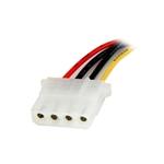 StarTech 30cm Adaptador Molex 4 Pines a SATA  Cable