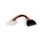 StarTech Alimentación 15cm Adaptador Molex L - Cable