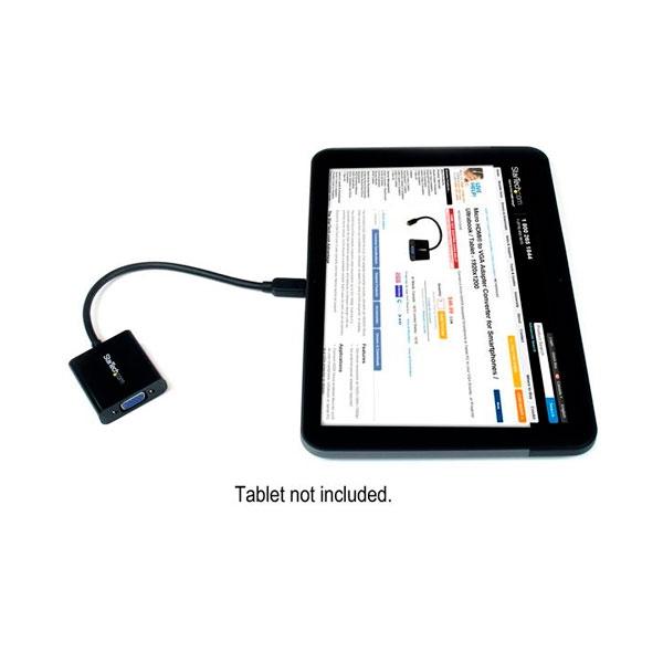 StarTechcom Adaptador Conversor Micro HDMI a VGA para Smart