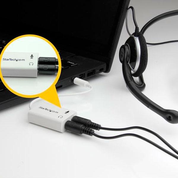 Adaptador de Auriculares con Micrófono