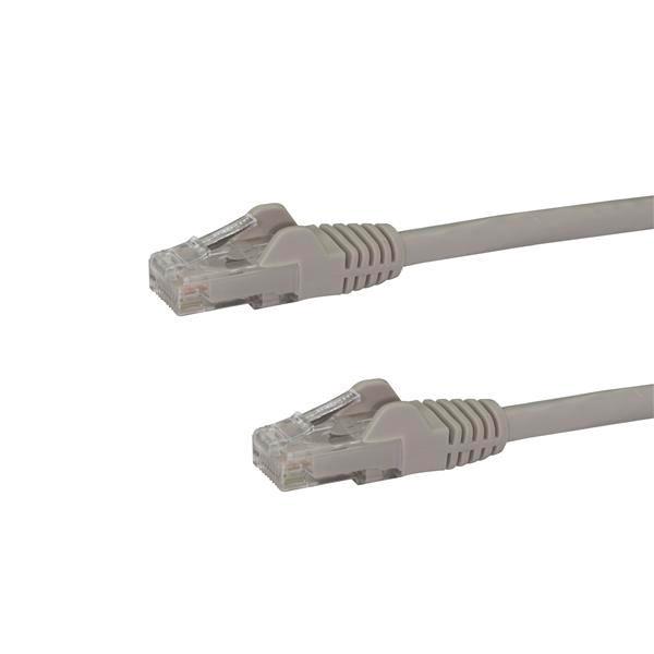 StarTech Cable de Red UTP Cat6 Ca 10m Gris - Cable de red
