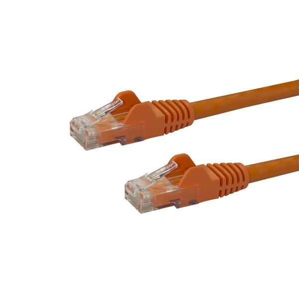 Startech latiguillo 1 M naranja CAT6 UTP  Cable de red