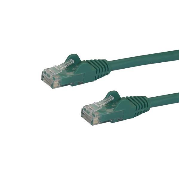 Startech latiguillo 2 M verde CAT6 UTP - Cable de red