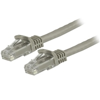 Startech latiguillo 3 M gris CAT6 UTP - Cable de red