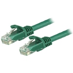 Startech latiguillo 5 M verde CAT6 UTP - Cable de red