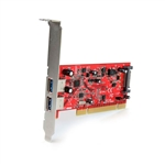 Startech PCI 2 X USB 30  superspeed  Adaptador