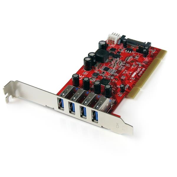 Startech PCI 30 X 4 superspeed  Adaptador