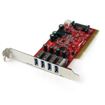 Startech PCI 3.0 X 4 superspeed - Adaptador