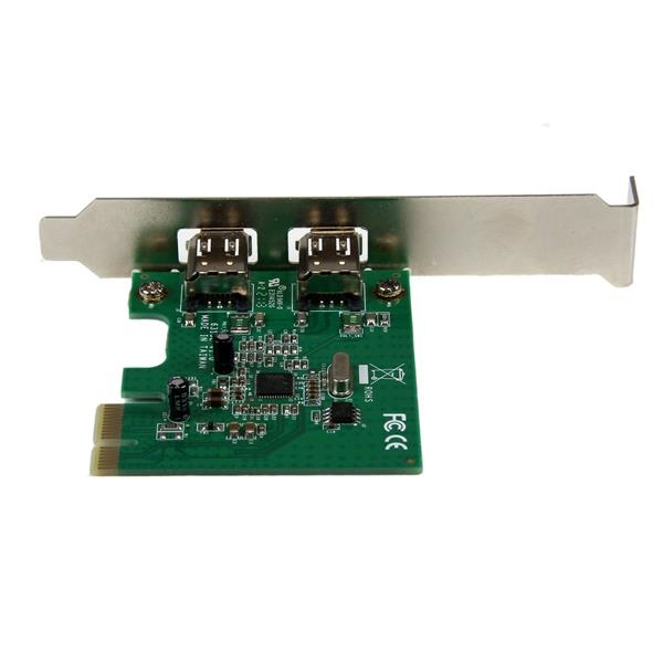Startech 2 puertos Firewire 400 PCIE  Adaptador