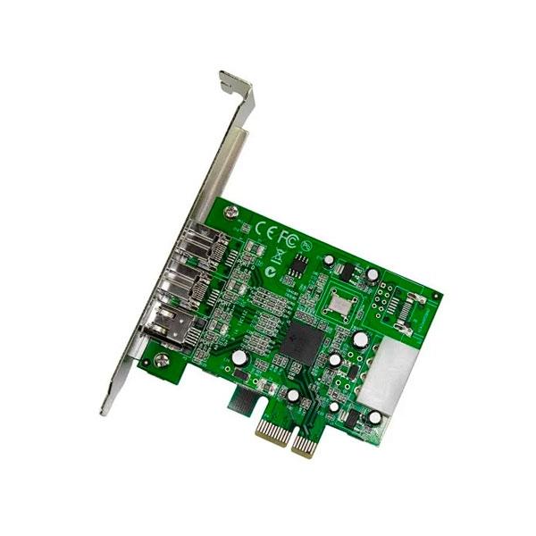 StarTechcom Adaptador Tarjeta FireWire PCIExpress  PCIe d