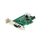 StarTech.com Tarjeta PCI Express Serie UART16550 - Adaptador
