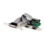StarTechcom PCIe de 2 Puertos Serie 1 paralelo  Adaptador