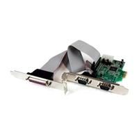 StarTech PCIe de 2 Puertos Serie 1 paralelo  Adaptador