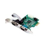 StarTech.com Tarjeta Adaptadora PCI Express PCIe de 2 Puerto