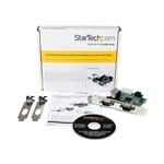 StarTechcom Tarjeta Adaptadora PCI Express PCIe de 2 Puerto