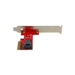 StarTechcom PCIE X4 a puerto U2 NVME  Adaptador