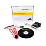 StarTech.com Tarjeta  PCI Express 2 sata III 2 E-sata