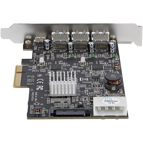 Startech PCIE USB 31 a X 3 USb C x1  Adaptador