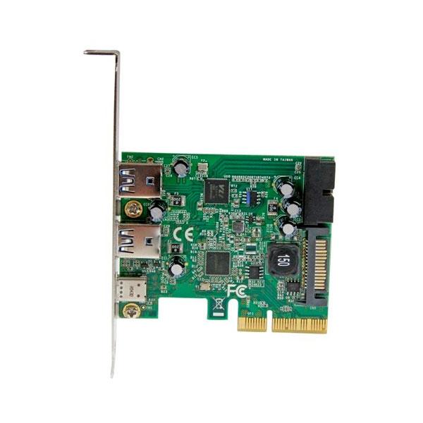 Startech PCIE USB 3.1 X 5 3 externos 1 interno - Adaptador