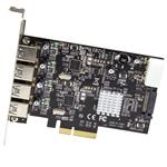 Startech PCIE 4 USB 31  Adaptador