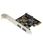 Startech PCIE USB 3.0 X 2 - Adaptador