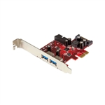 Startech PCIE 4 X USB 3.0 - Adaptador