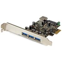Startech PCIE USB 3.0 x 4 - Adaptador