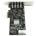 Startech PCIE 4 USB 30 UASP  Adaptador