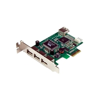 TARJETA PCI EXPRESS USB 2.0 3  CTLR EXTERNOS 1 INTERNO PERFI