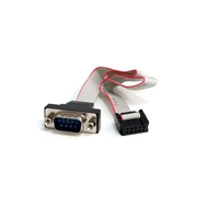 StarTech.com Cabezal Serie RS232 Serial 0 - Cable de datos
