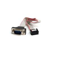 StarTech.com Cabezal Serie RS232 Serial 0 - Cable de datos