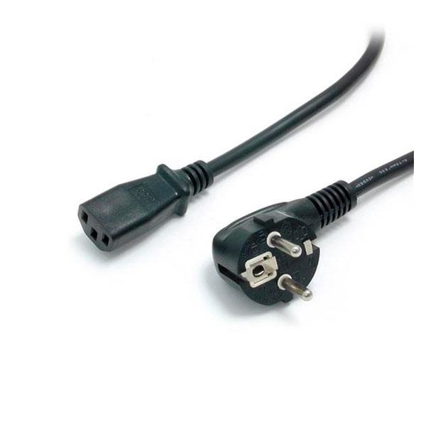 StarTech.com 6 ft 2 Prong European Power Cord for PC Compute