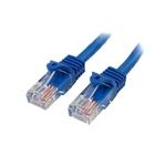 StarTechcom 03m UTP Cat 5e RJ45 azul  Cable