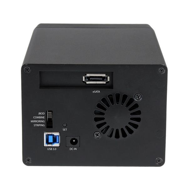 """Startech ESATA 2 bahías de 3.5"""" con RAID - Caja HDD externa"""