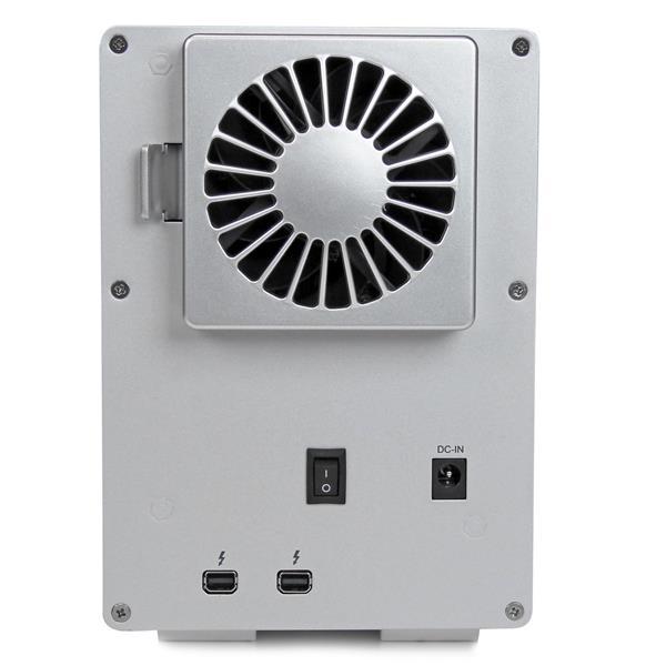 """StarTech Thunderbolt 2 con 4 Bahías RAID de 3,5"""" - Caja HDD"""