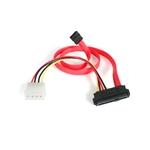 StarTech SAS a SATA con alimentación LP4 - Cable