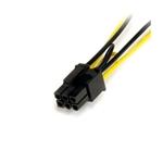 StarTechcom Cable Adaptador 15cm Alimentación SATA a Conect