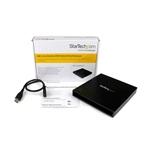 StarTech USB 30 CD DVD Slim Line 525 SATA  Caja CD DVD