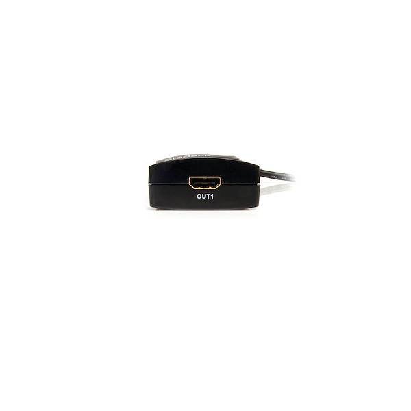 Startech Splitter Multiplicador HDMI 2 Puertos  Cable