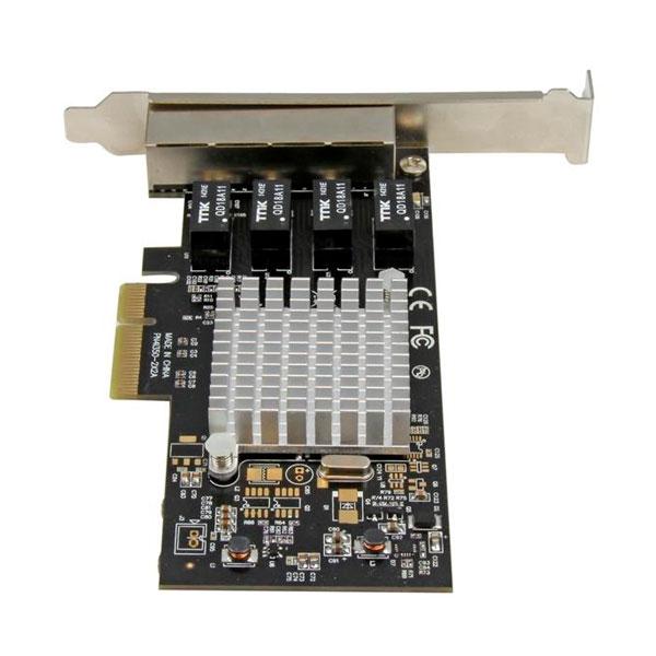 Startech GBLAN 4 LAN RJ45 Chip intel i350 - Tarjeta de red
