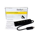 StarTechcom Adaptador Concentrador Hub Ladrón USB 30 Super