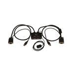 StarTech.com Switch Conmutador KVM de Cable con 2 Puertos VG